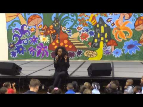 Janet Jackson Backup Singer At Coit Creative Arts Academy