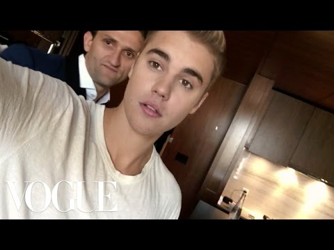 Watch Justin Bieber And Olivier Rousteing Get Ready For The Met Gala - Vogue