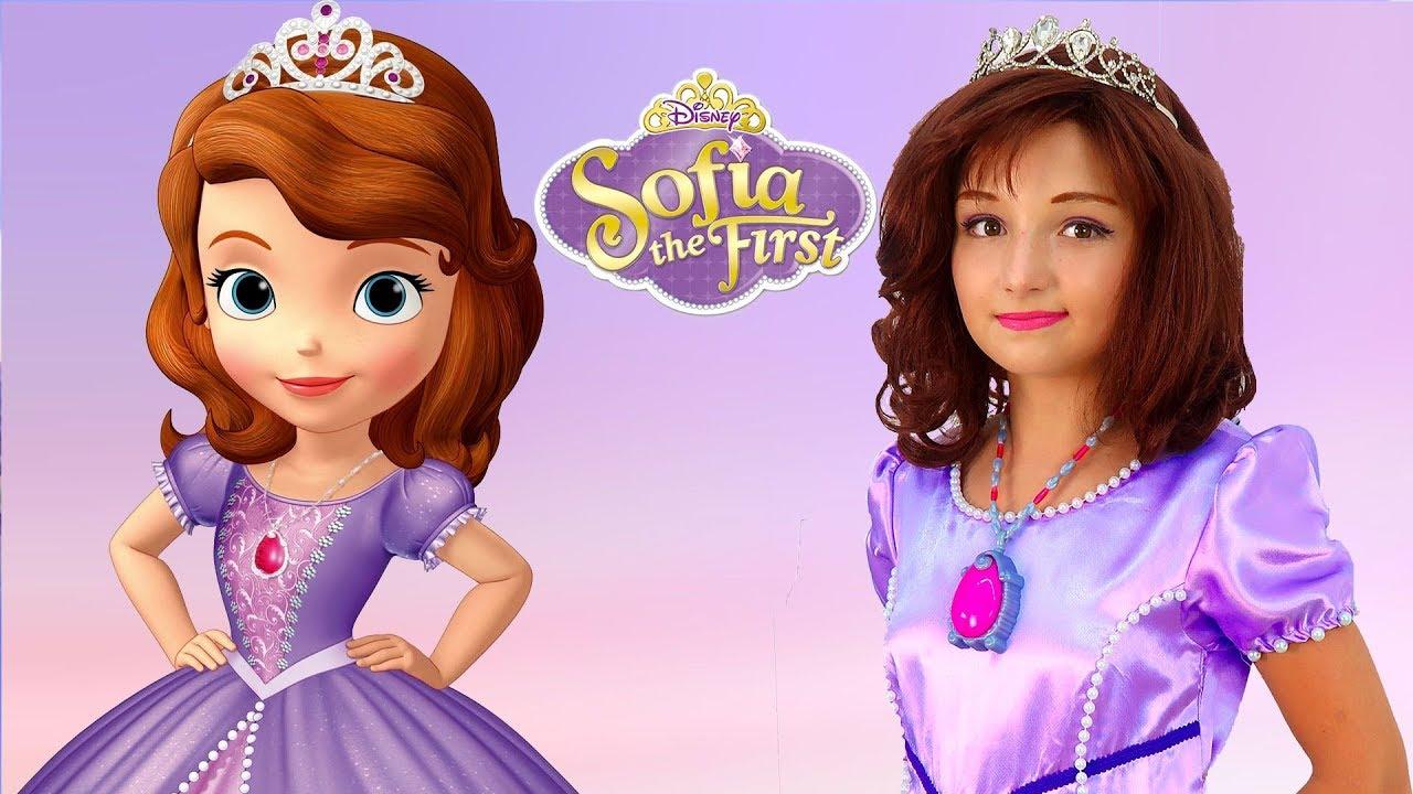 Kids Makeup Sofia the First & Costumes Disney Princess ...