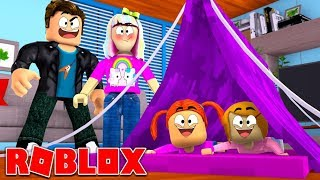 Happy Roblox Family | Slumber Party | Episode 9