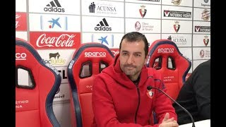 Diego Martínez. Previa Huesca-Osasuna