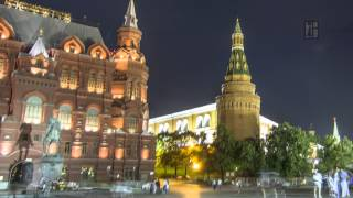 motion moscow city   timelapse   4k