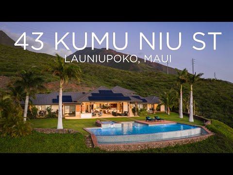 43 Kumu Niu Street   Makila Ridge   Launiupoko, Maui   MLS