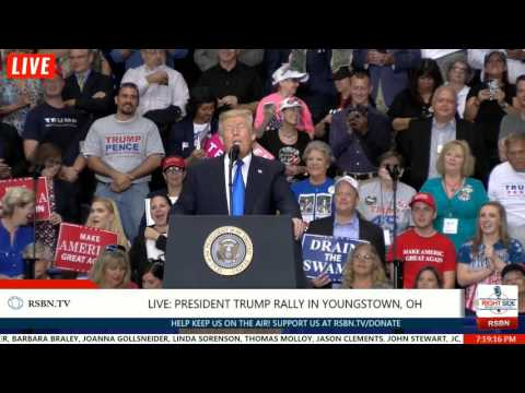FULL SPEECH: President Trump Rally in Youngstown, OH 7/25/17