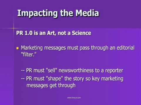Public Relations 1.0 vs Public Relations 2.0 - The Murry Agency