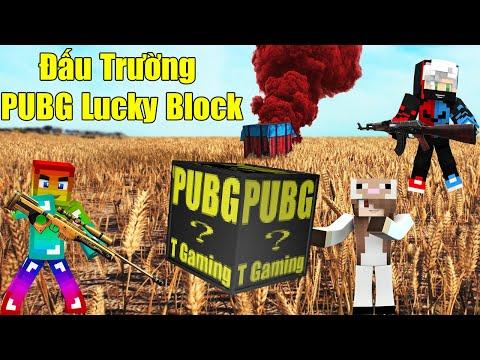 MINI GAME : PUBG LUCKY BLOCK ARENA ** THỬ THÁCH CHIẾN THẮNG TRONG ĐẤU TRƯỜNG SINH TỒN PUBG LUCKY