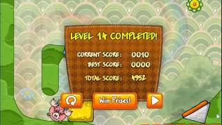 Piggy Wiggy 3: Nuts -- Level 14 Walkthrough
