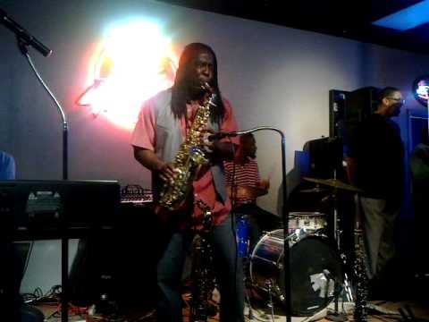 Don Diego Jazz Saxophonist LIVE in Dallas - WATCH TO THE END!!