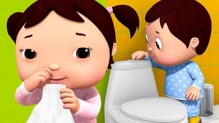 🔴Baby Shark Wash Your Hands | ABC Song | Wheels On The Bus | Nursery Rhymes & Songs Little Baby Bum