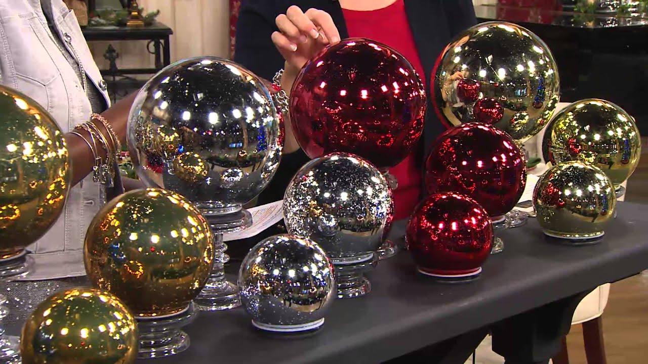 Christmas Lighted Spheres