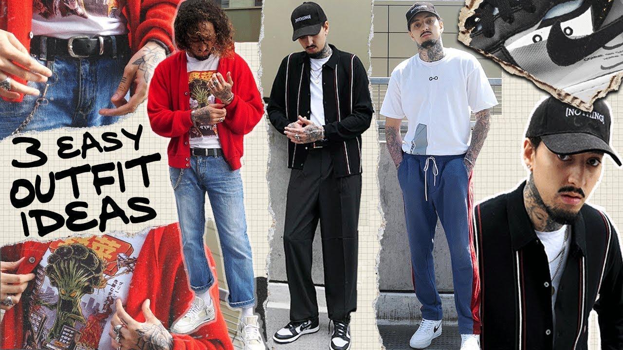 Streetwear Lookbook Outfit Ideas