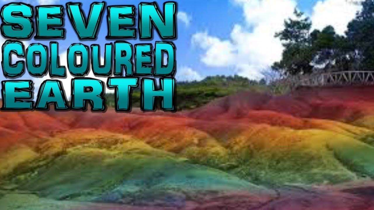 Chamarel Seven Coloured Earths Mauritius 4K YouTube