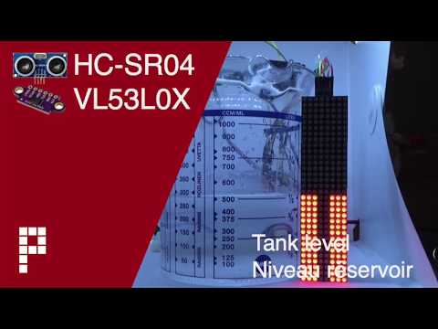 HC-SR04 (ultrasound) vs Sharp GP2Y0A02YK0F (IR) vs VL53L0X (Laser