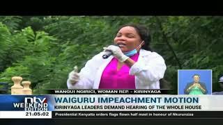 Anne Waiguru Impeachment: Kirinyaga leaders demand hearing of the whole Senate