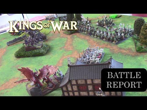 025 - Kings of War Battle Report - Elves vs Orcs