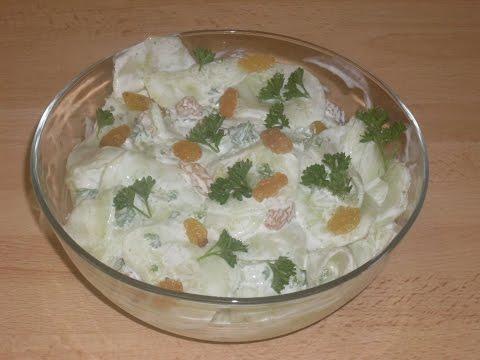 recette-de-concombre-au-yaourt-grec-et-au-raisins-blond--recette-facile