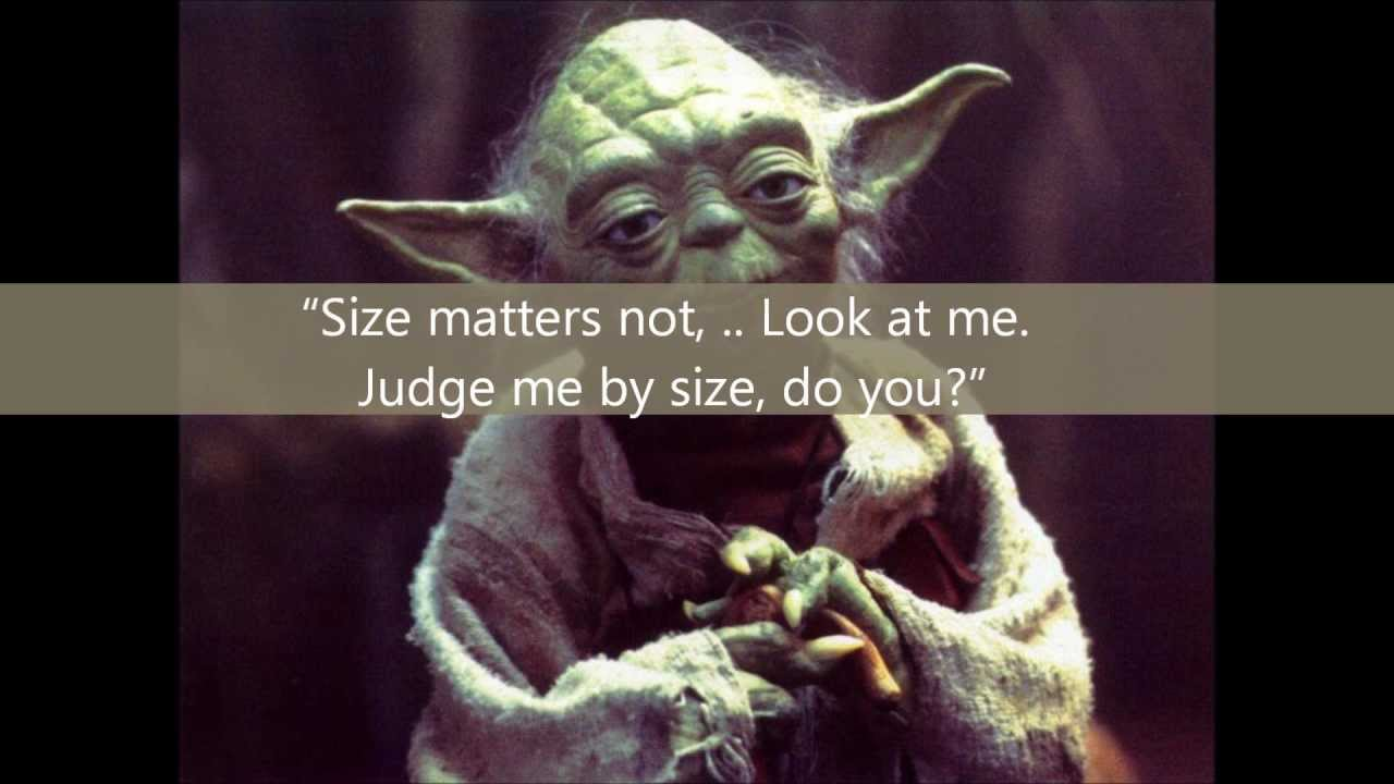 Yoda Quotes: Battle 1: Words Of Wisdom