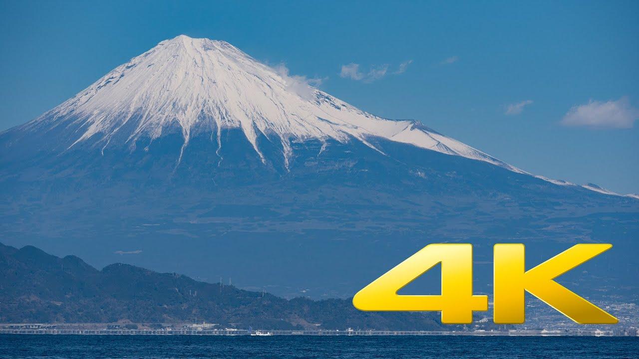 Mount fuji shizuoka 4k ultra hd youtube - Background images 4k hd ...