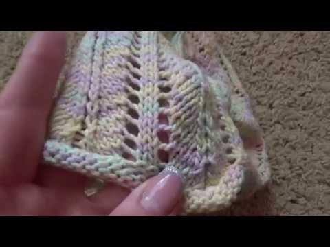 вязание шапочки для девочек