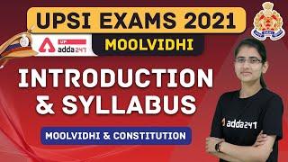 UPSI | MOOL VIDHI | Introduction \u0026 Syllabus of  Moolvidhi \u0026 Constitution in UPSI
