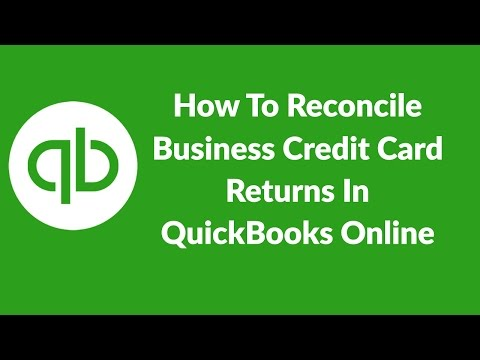 How To Reconcile Business Credit Card Transactions