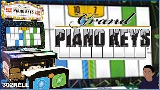 GRAND PIANO KEYS ARCADE GAME - PIANO TILES WITH TICKETS LOL
