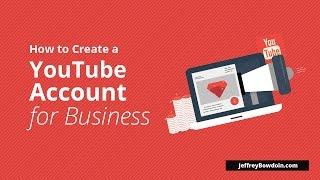 So Erstellen Sie Ein YouTube-Konto Für Unternehmen (2016)