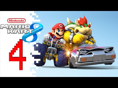 Let's Play Mario Kart 8 (Online Multiplayer) - EP04 - Down 2 thumbnail