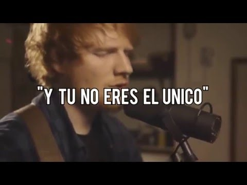 Ed Sheeran - Afire Love Sub. Español Acoustic Version