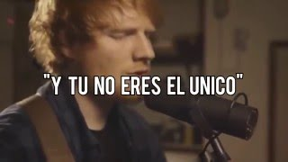 Ed Sheeran - Afire Love Sub. Español Acoustic Version