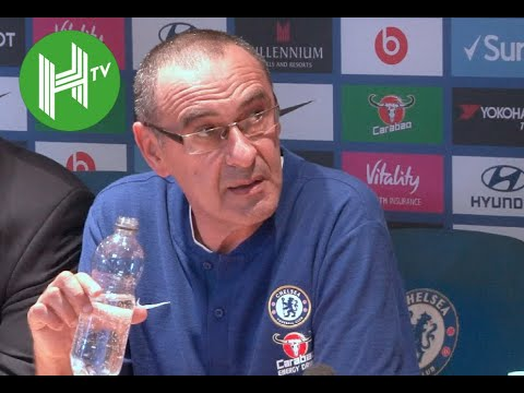 Maurizio Sarri: I took my member of staff to apologise to Jose Mourinho - Chelsea 2-2 Man Utd