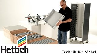 Arcifit 200: Assembly Aid For Arcitech Drawers Made By Hettich