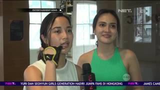 Chacha Frederica dan Shandy Aulia Rutin Jalani Olahraga TRX