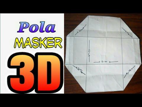 CARA MEMBUAT POLA MASKER 3D