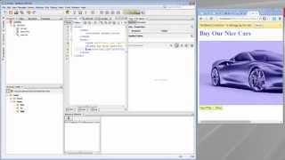 رهيبة تطوير الموقع مع NetBeans IDE