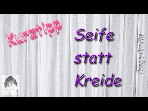 82 Mit Seife Statt Kreide Anzeichnen Für Dunkle Stoffe Soap Instead Of Chalk