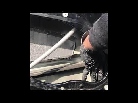 How to replace window regulator on a Jaguar XF