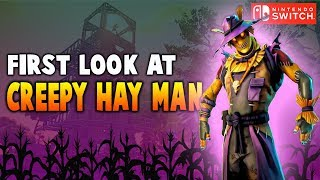 New Creepy Hay Man Scarecrow Skin!! (Nintendo Switch) - Fortnite Battle Royale Gameplay
