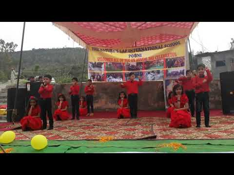 Best performance by Nature's lap international School pouni kids