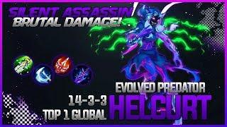 Cancer Assassin Helcurt Top 1 Global  Skin Giveaway  GameplayandBuild  Mobile Legends