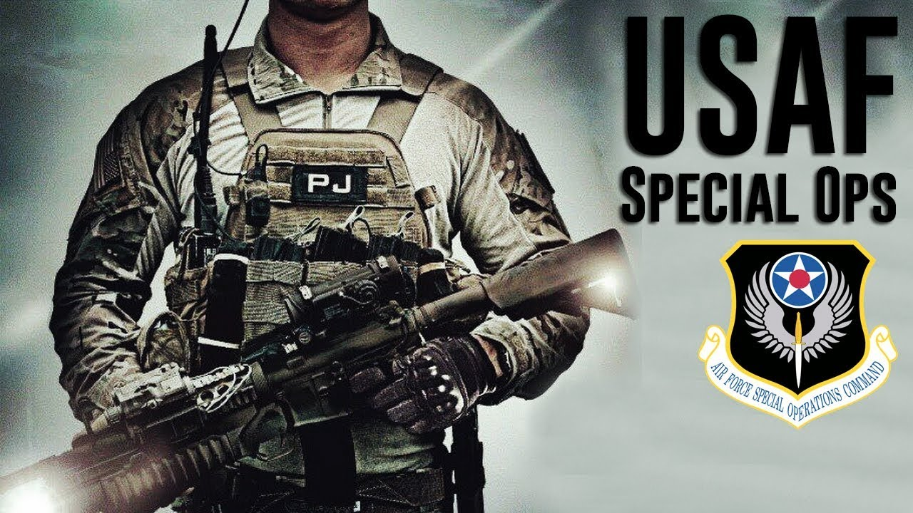 U S  Air Force Special Ops 2018 /