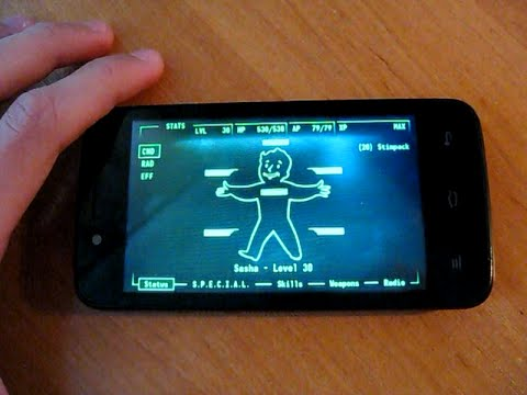 My Fallout 3 Pip-Boy app for Android