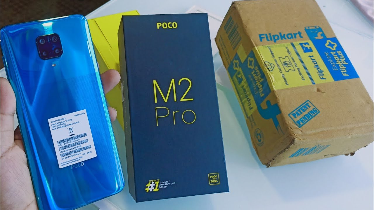 Poco M2 Pro Unboxing (Flipkart), First Look & Review!!Poco M2 Pro Flipkart Unboxing,Price & Features