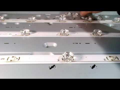 видео: Замена светодиода подсветки led телевизора