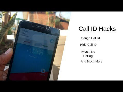 Caller ID Hacks, Hide Your Caller ID And Change It 2019 (hindi) New Trick