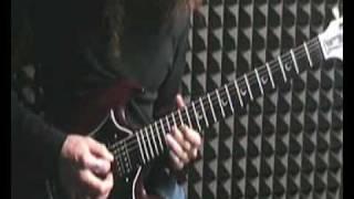 Boma plays Troy Stetina - Heavy Metal Lead Guitar 1