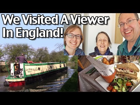 We Visited A Viewer in England! Foxton Locks and Fardon Fields