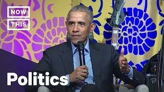 Obama Nails the Difference Between Fear and Hope in Politics | NowThis