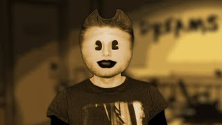 Human BENDY Transformation (Bendy and the Ink Machine) Man turn into bendy