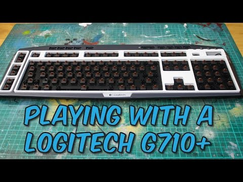 Mod Log : Logitech G710+ Gaming Mechanical Keyboard - Cleaning & Disassembly